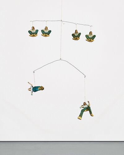 Sarah Lucas, 'Self Portrait Mobile', 1993