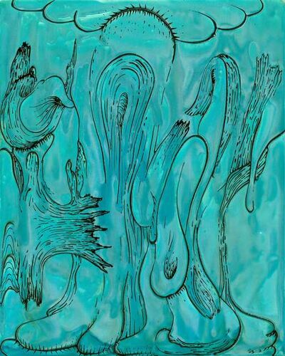 Joseph Fucigna, 'Turquoise Drip', 2015