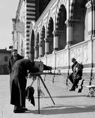 Elio Ciol, 'In Posa (Posing)', Florence 1960