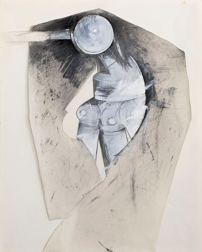 Jay DeFeo, 'Untitled (Dressed Tripod)', ca. 1976