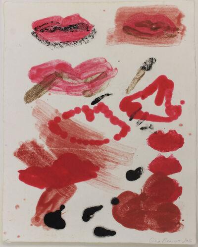 Gina Beavers, 'Lip Test', 2015