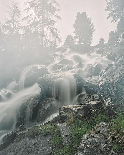 Axel Schmidt, 'Wasserfall Martelltal, Südtirol ', 2009