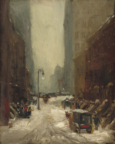 Robert Henri, 'Snow in New York', 1902