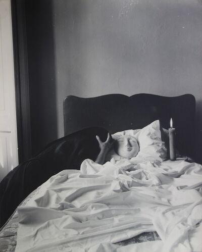 Kati Horna, 'Untitled, series Oda a la necrofilia, Ciudad de México,(Leonora Carrington)', 1962