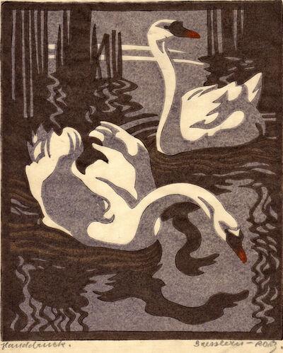 Norbertine Bresslern-Roth, 'Swans', 1931