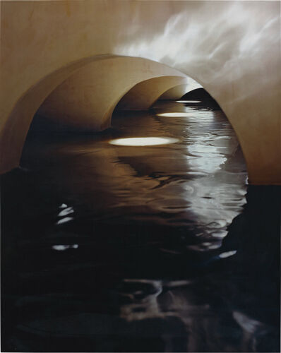 James Casebere, 'Four Flooded Arches from Right', 1999