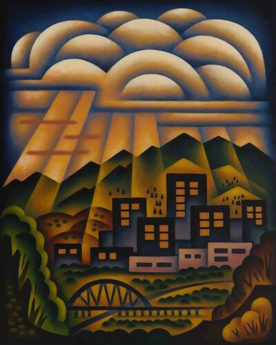 Sushe Felix, 'City Sunrays', 2020