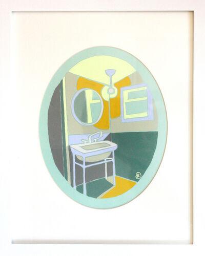 Julia Deckman, 'Bathroom Study 1', 2020