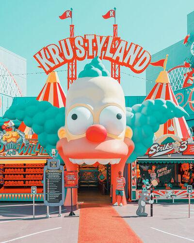 Ludwig Favre, 'Krustyland', 2019
