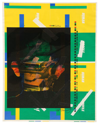 Shozo Shimamoto, 'Senza titolo', 1999