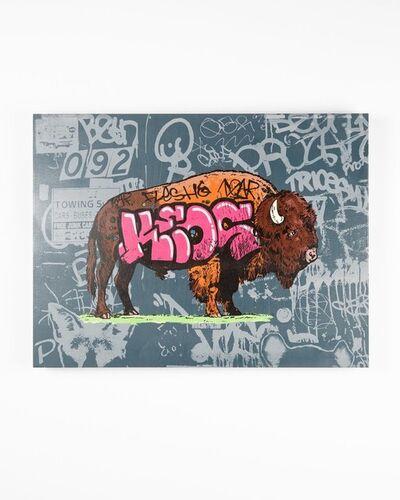 "Whatisadam (WIA), 'Graffiti Buffalo ""KEOS""', 2020"