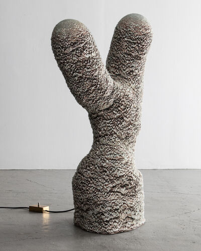 The Haas Brothers, 'Rip Thorn, marbled cactus floor lamp', 2014