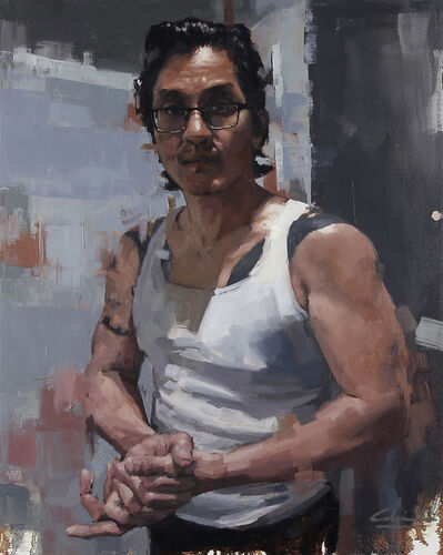 Calvin Lai, 'Self Portrait in Isolation', 2020