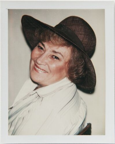 Andy Warhol, 'Andy Warhol, Polaroid Photograph of Bella Abzug, 1977', 1977