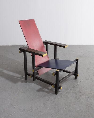 Gerrit Thomas Rietveld, 'Red Blue Chair. Designed by Gerrit Rietveld, 1919', 1950