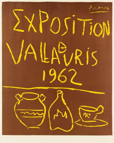 Pablo Picasso, 'Exposition Vallauris 1962', 1962