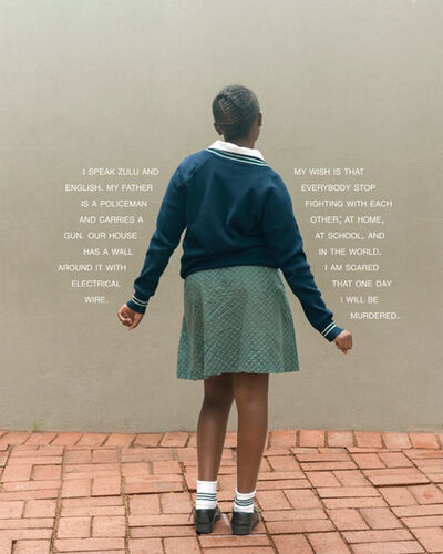Judy Gelles, 'South Africa: Public School (Girl)', 2013