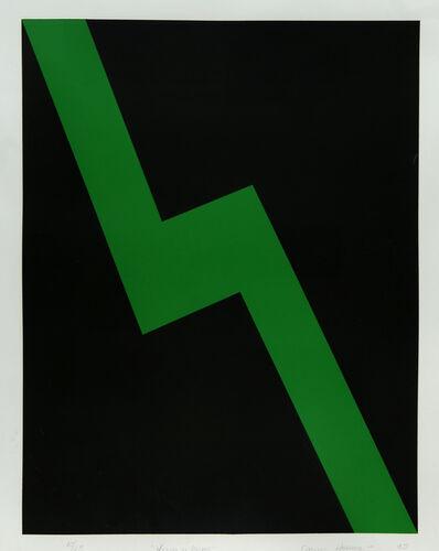 Carmen Herrera, 'Verde y Negro', 1995
