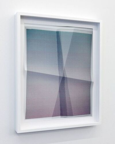 John Houck, '65,535 combinations of a 4x4 grid, 2 colors A20007, 82947E', 2011