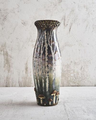 Paul Dachsel, 'Mushroom Forest Vase', 1904-1910