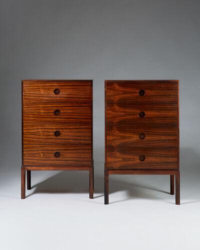 Kai Kristiansen, 'Pair of chests of drawers model 385 designed by Kai Kristiansen for Aksel Kjersgaard,  Denmark. 1960's. ', 1960-1969