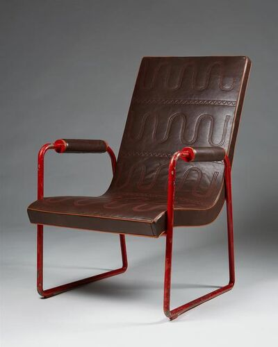 Axel Einar Hjorth, 'Unique armchair ', 1930