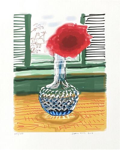 David Hockney, 'My Window. Art Edition (No. 251–500) 'No. 281', 23rd July 2010', 2010