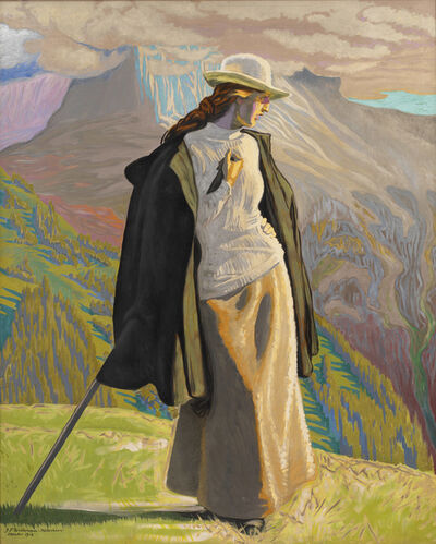 J.F. Willumsen, 'A Mountaineer', 1912
