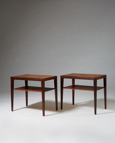 Severin Hansen, 'Pair of side/bedside tables', 1952