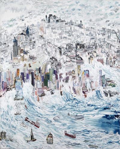 Olive Ayhens, 'Oceans Rising', 2016