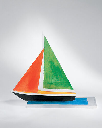 John Baldessari, 'Sailboat', 2008