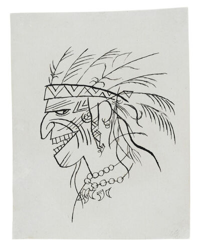 George Grosz, 'Indianer', 1920
