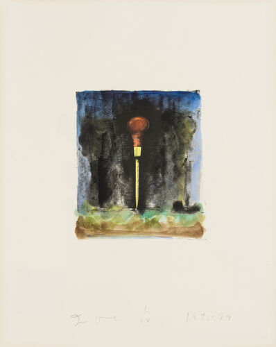Jim Dine, 'Untitled [Awl]', 1973-1989