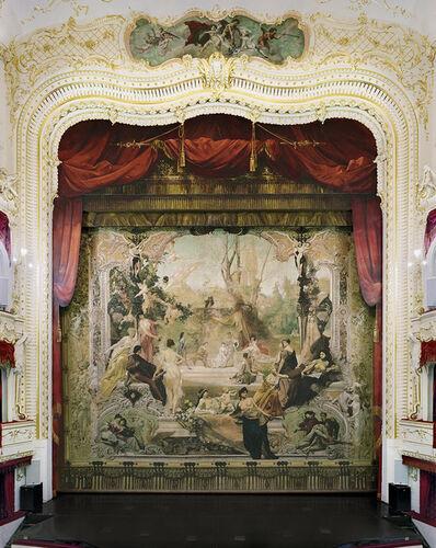 David Leventi, 'Gustav Klimt Painted Curtain, Municipal Theatre, Karlovy Vary, Czech Republic, 2019 ', 2019