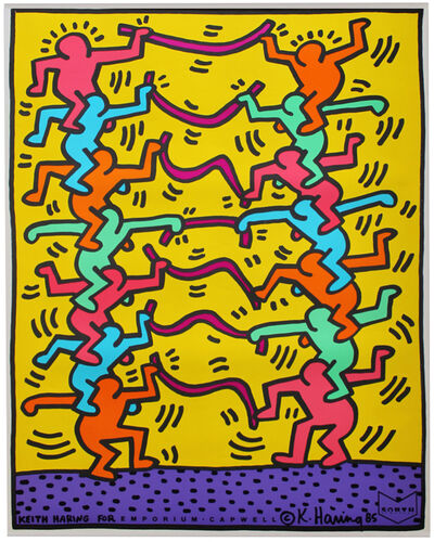 Keith Haring, 'Keith Haring for Emporium Capwell', 1985