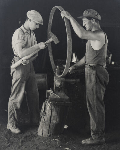 Alfons Himmelreich, 'Metal Workers', ca. 1940
