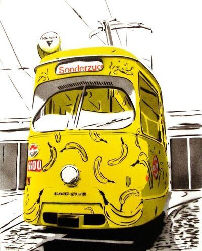 Bananensprayer Thomas Baumgärtel, 'Bananenbim', 2004