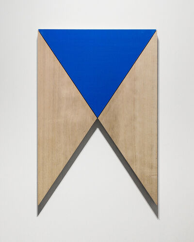 Susumu Koshimizu, 'Paulownia and Deep Blue 桐與深藍', 2018