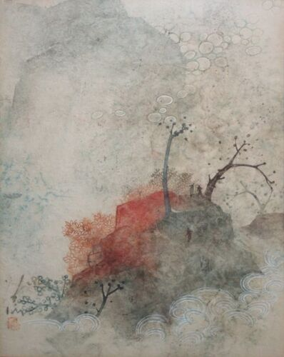 Pang Tseng-Ying, 'Red Mountain', 1975-1995