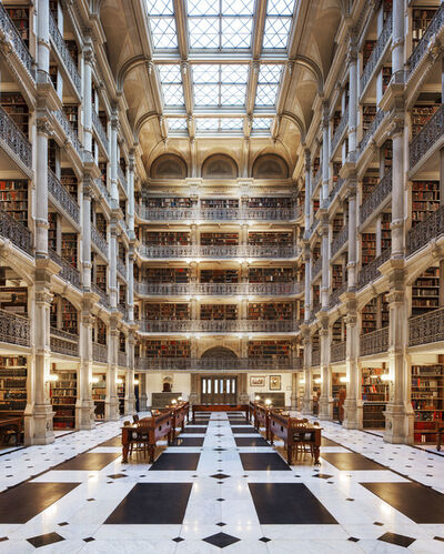 Reinhard Gorner, 'George Peabody Library, Baltimore', 2017