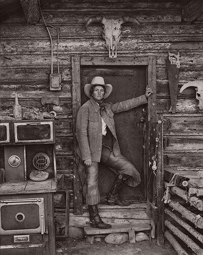 Jay Dusard, 'Julie Hagen, Wagstaff Land & Cattle Co, Wyoming', 1981