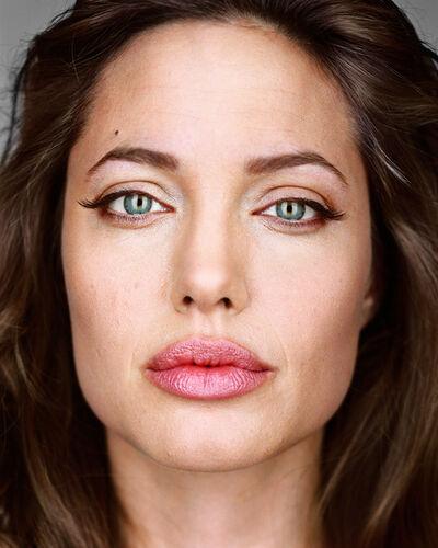 Martin Schoeller, 'Angelina Jolie', 2004