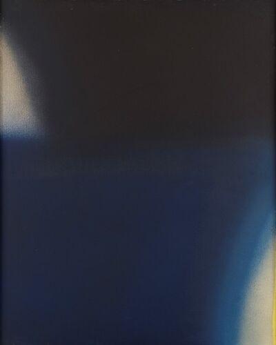 Claudio Olivieri, 'Autocromie blu/nere', 1973