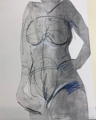 Sandra Wolfson, 'Core Strength 1 (Gestural Figure)', 2016