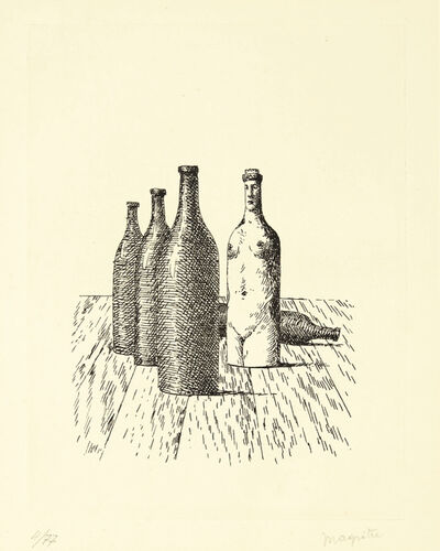 René Magritte, 'La Comtesse de Monte Cristo, from Aube à l'Antipode', 1966
