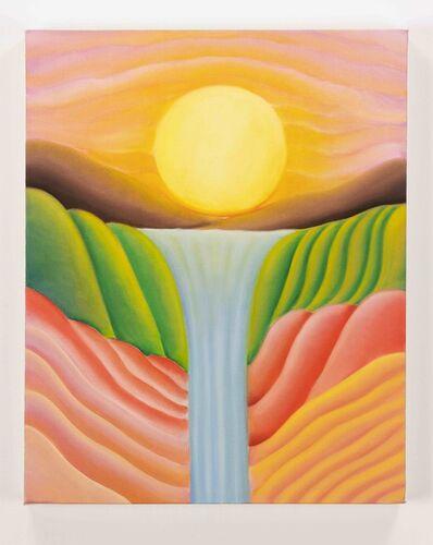 Camilla Engström, 'Sunset Over Waterfall', 2020