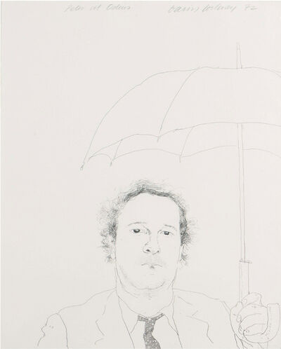 David Hockney, 'The Restaurateur ', 1972