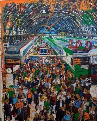 Andrea Sbra Perego, 'Milan, Central Station', 2019