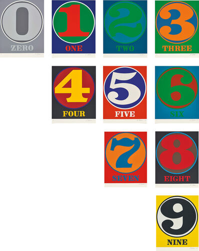 Robert Indiana, 'Numbers', 1968