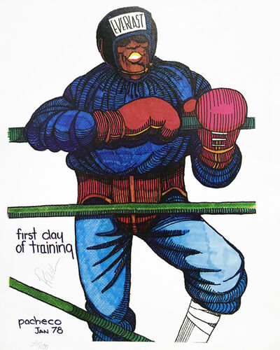 Ferdie Pacheco, 'FIRST DAY OF TRAINING (BOXING)', ca. 1980